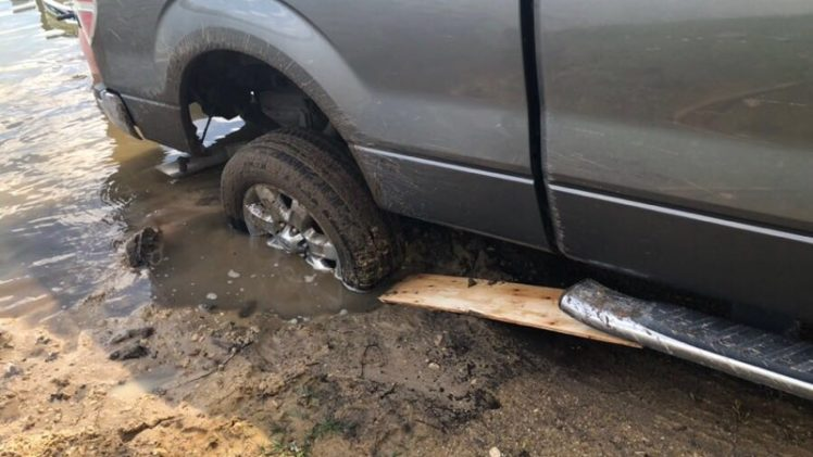 Stuck in the Mud… Again!